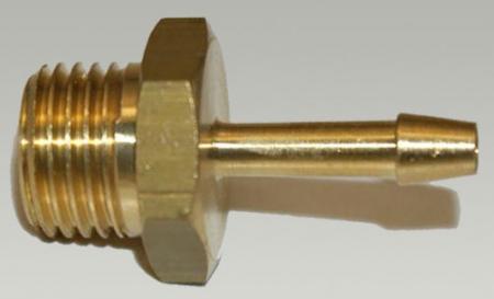 Tülle 1/4 Außengewinde - 4 mm Schlauchanschluss