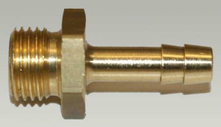 Tülle 1/4 Außengewinde - 6 mm Schlauchanschluss