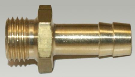 Nozzle 1/4 external thread - 9 mm hose tail