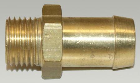 Tülle 1/4 Außengewinde - 13 mm Schlauchanschluss