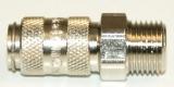 NW 2,7 Kupplung - M5 Außengewinde