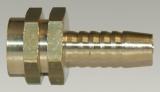 Tülle 1/8 Innengewinde - 6 mm Schlauchanschluss - Schlitz