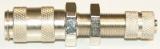 NW 2,7 Kupplung - 3 x 4 Schlauchanschl. Schott M 7x 0,5