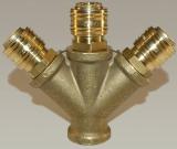Verteiler 1/2 Innengewinde - 3 x NW 7,2 Kupplung