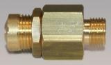 Mini Sicherheitsventil - 1/8 Außengewinde 10-18 bar