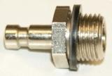 NW 2,7 Stecker - 1/8 Außengewinde