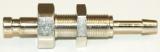 NW 2,7 Stecker - 4 mm Schlauchanschl. Schott M 7x 0,5