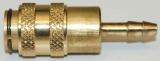 NW 5 Kupplung - 4 mm Schlauchanschluss
