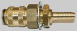 NW 5 Kupplung - 5 mm Schott M 12x1