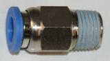 Steckverschraubung 6 mm Schlauch - 1/8 AG