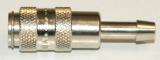 NW 2,7 Kupplung - 4 mm Schlauchanschluss